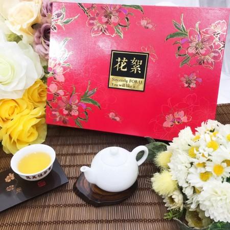 「雋美佳」花絮禮盒 茶葉禮盒 客製化禮盒