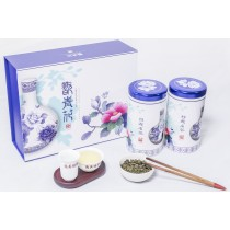 「雋美佳」翫青花茶葉禮盒 客製化禮盒 年節禮盒